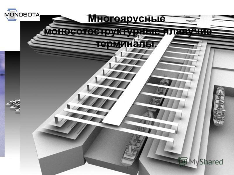Руководитель проектов ВладимирШумовский www.monosota.ru Многоярусные моносотоструктурные плавучие терминалы.