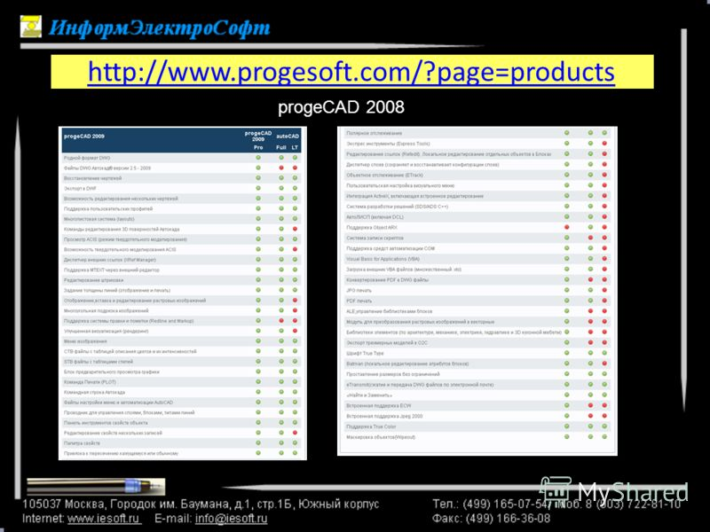 http://www.progesoft.com/?page=products progeCAD 2008