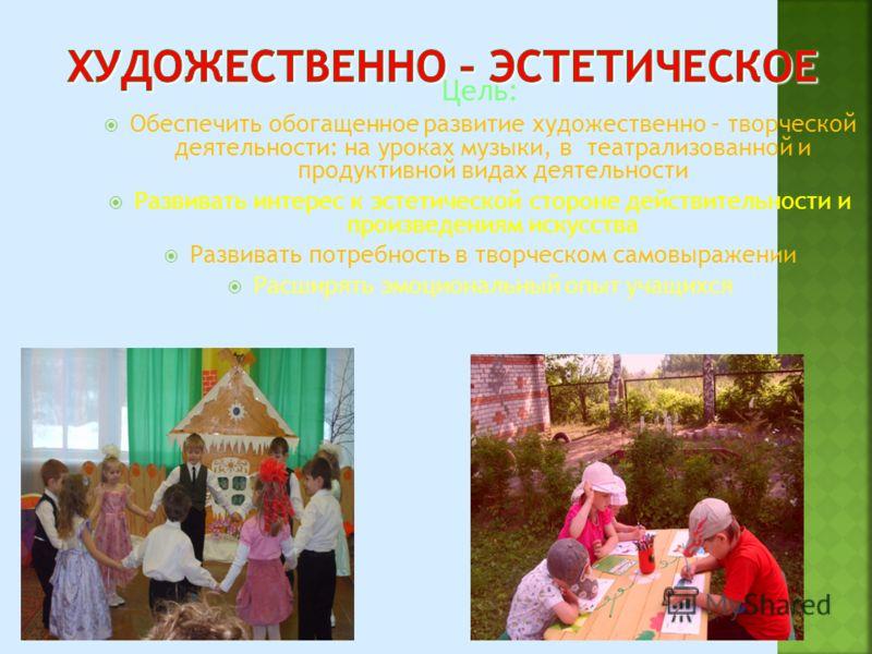 Цель: Воспитывать эстетические и социальные нормы поведения Формировать навыки межличностного общения со взрослыми и сверстниками Развивать умение самоконтроля и саморегуляцию своих действий