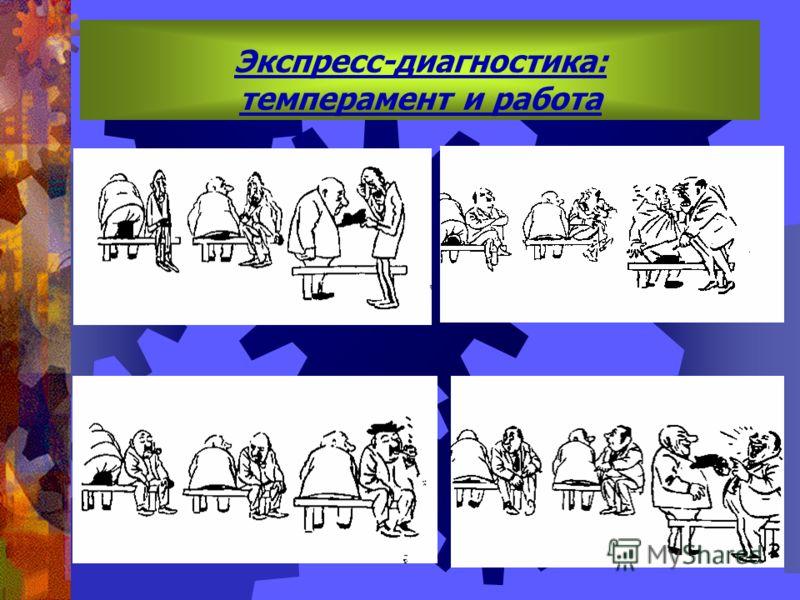Экспресс-диагностика: темперамент и работа