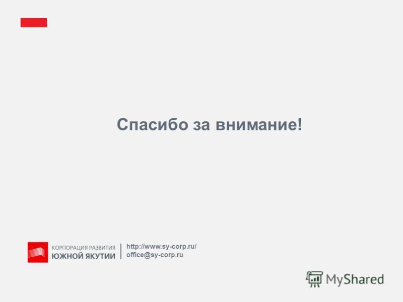 Спасибо за внимание! http://www.sy-corp.ru/ office@sy-corp.ru