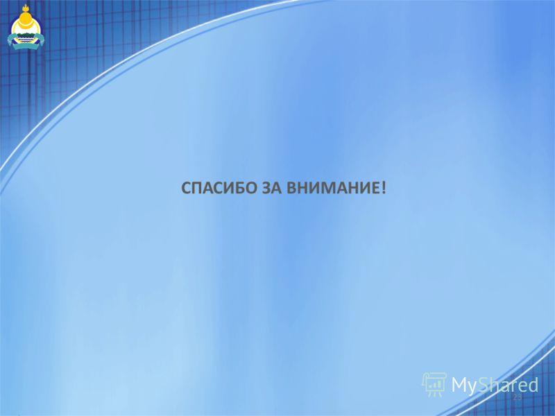 СПАСИБО ЗА ВНИМАНИЕ! 23