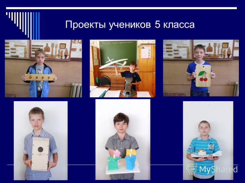 Проекты учеников 5 класса