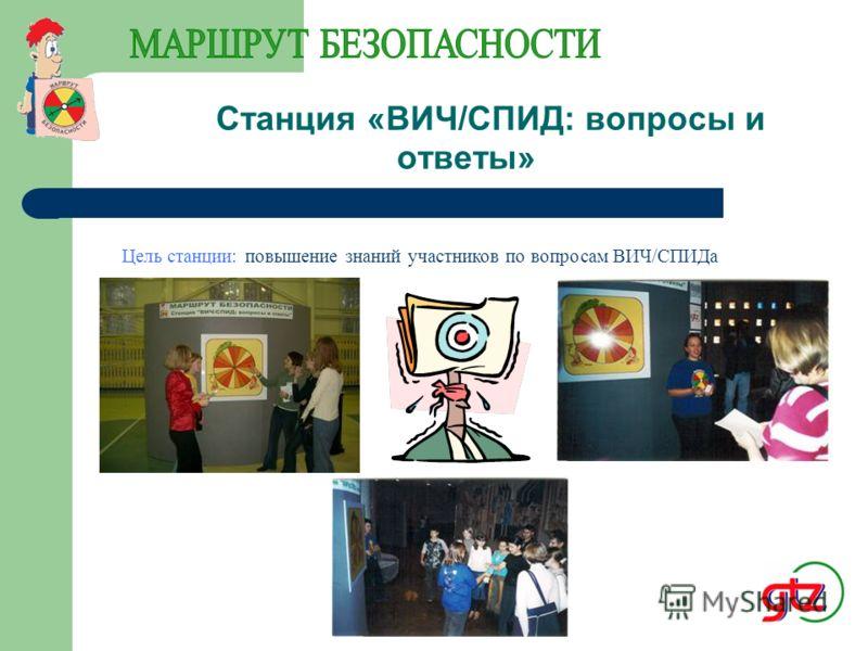 Станция «Пути передачи ВИЧ» Информационный комплект для станции