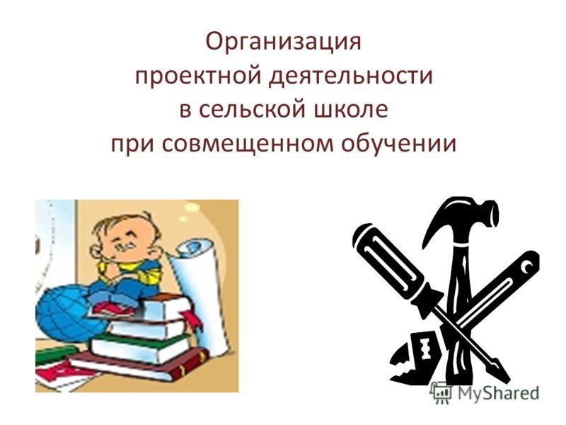 Организация проектной деятельности в сельской школе при совмещенном обучении