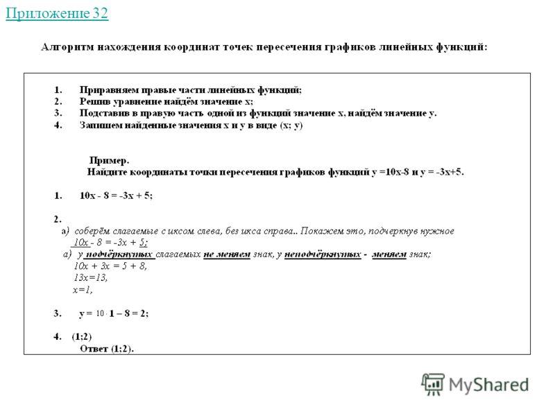 Приложение 32