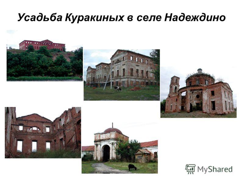Усадьба Куракиных в селе Надеждино