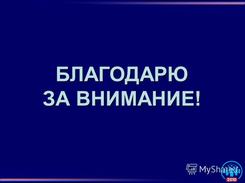 БЛАГОДАРЮ ЗА ВНИМАНИЕ! 21