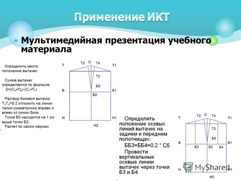 Мультимедийная презентация учебного материала