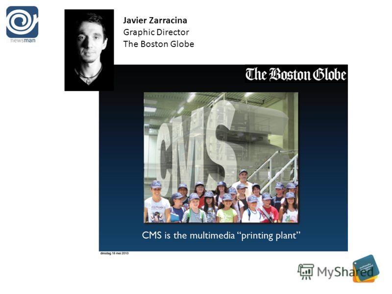Javier Zarracina Graphic Director The Boston Globe