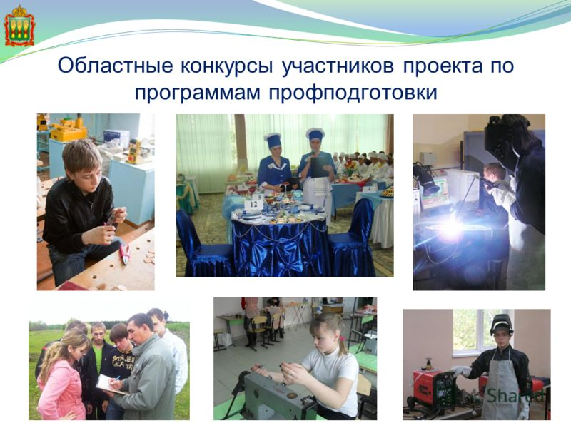 Областные конкурсы участников проекта по программам профподготовки