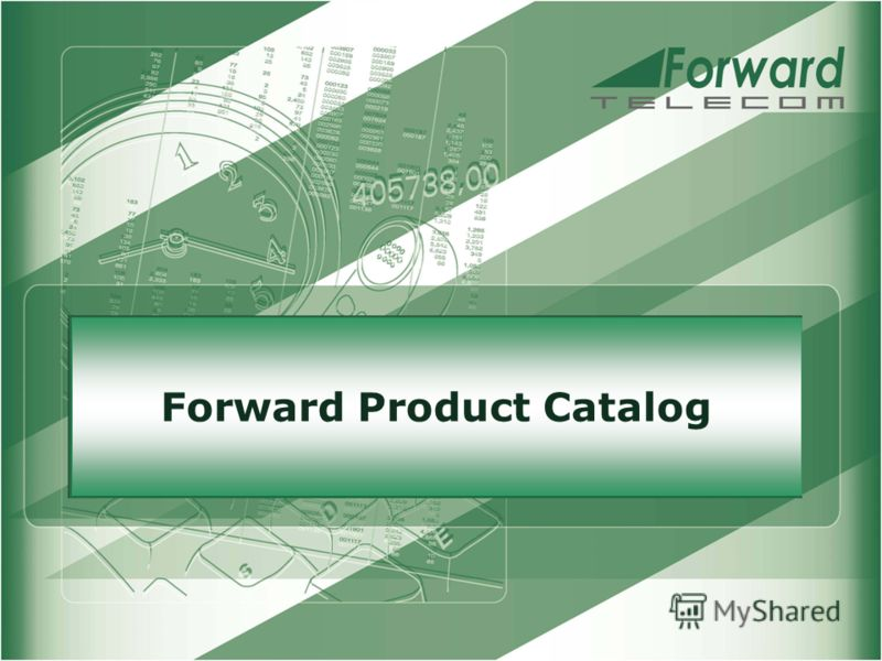 Forward Product Catalog