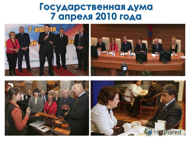 Государственная дума 7 апреля 2010 года