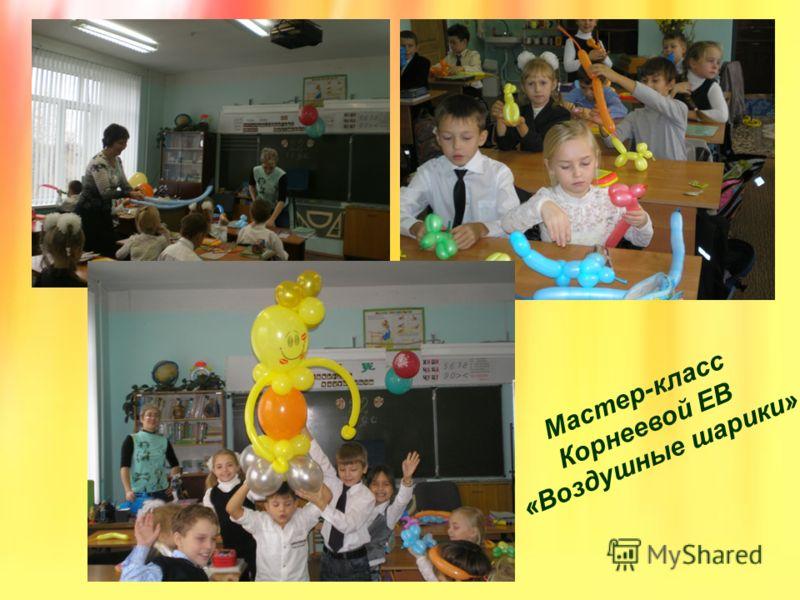 Мастер-класс Корнеевой ЕВ «Воздушные шарики»