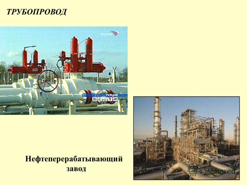 ТРУБОПРОВОД Нефтеперерабатывающий завод