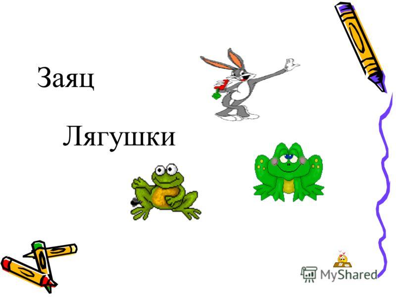 Заяц Лягушки