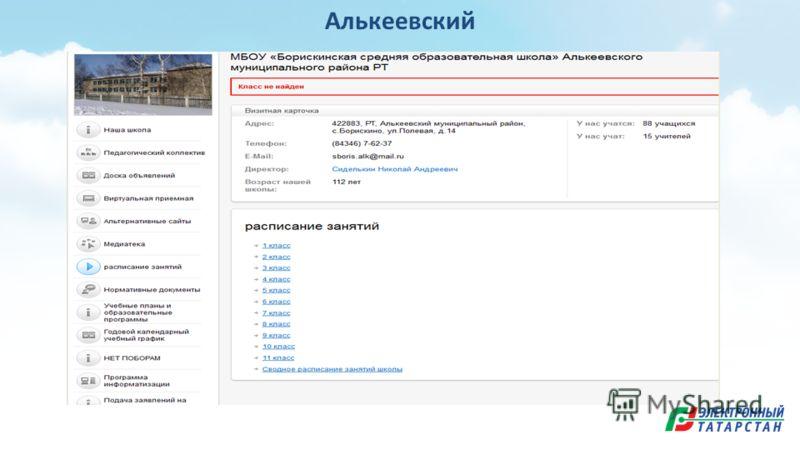Алькеевский
