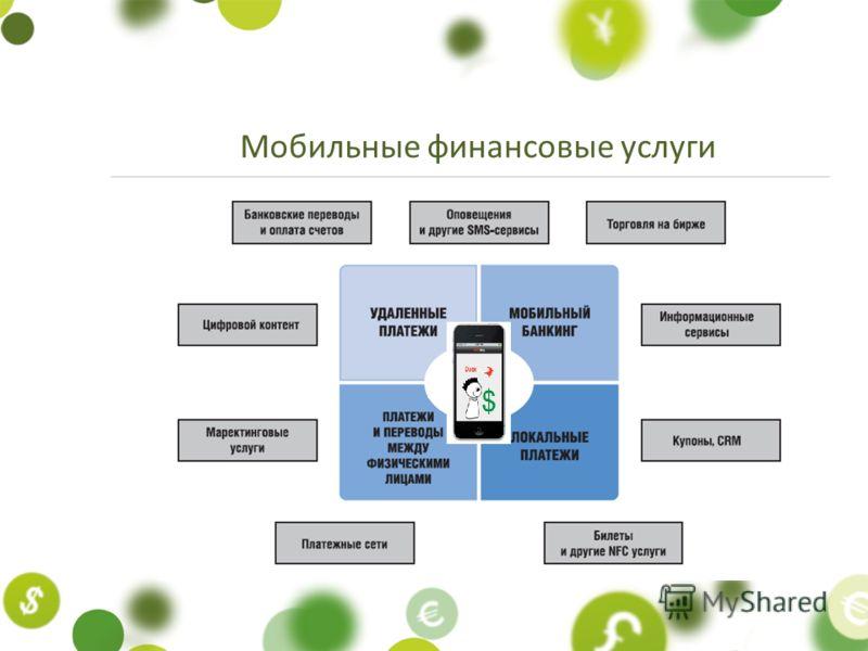 Мобильные финансовые услуги