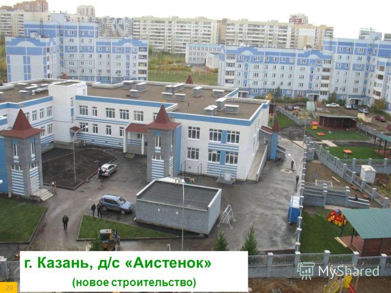 г. Казань, д/с «Аистенок» (новое строительство) 29