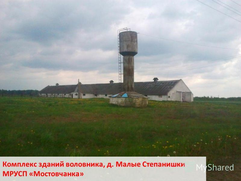 Комплекс зданий воловника, д. Малые Степанишки МРУСП «Мостовчанка»