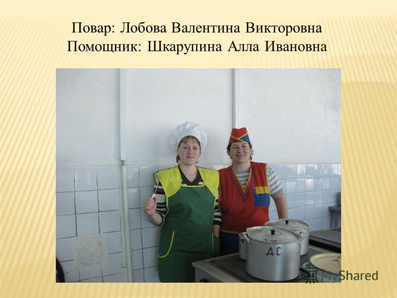 Помощники воспитателя: Гнилозубова Екатерина Ивановна Лобова Ольга Алексеевна