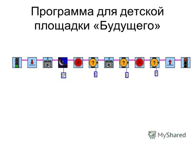Программа для детской площадки «Будущего»