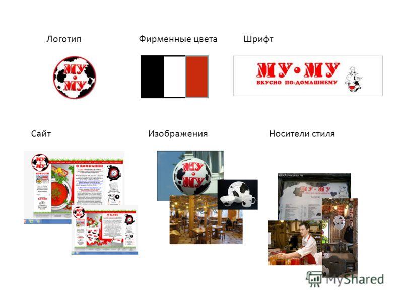 ЛоготипФирменные цветаШрифт СайтИзображенияНосители стиля