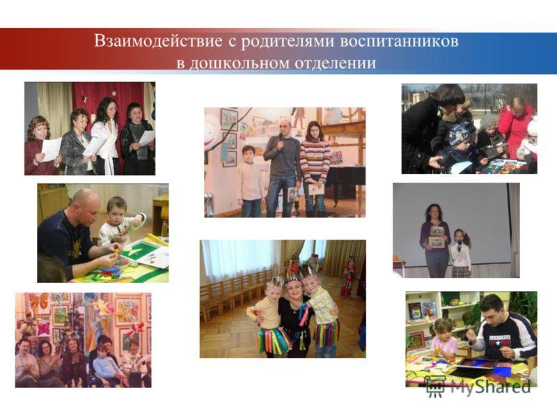 www.themegallery.com Company Logo Взаимодействие с родителями воспитанников в дошкольном отделении
