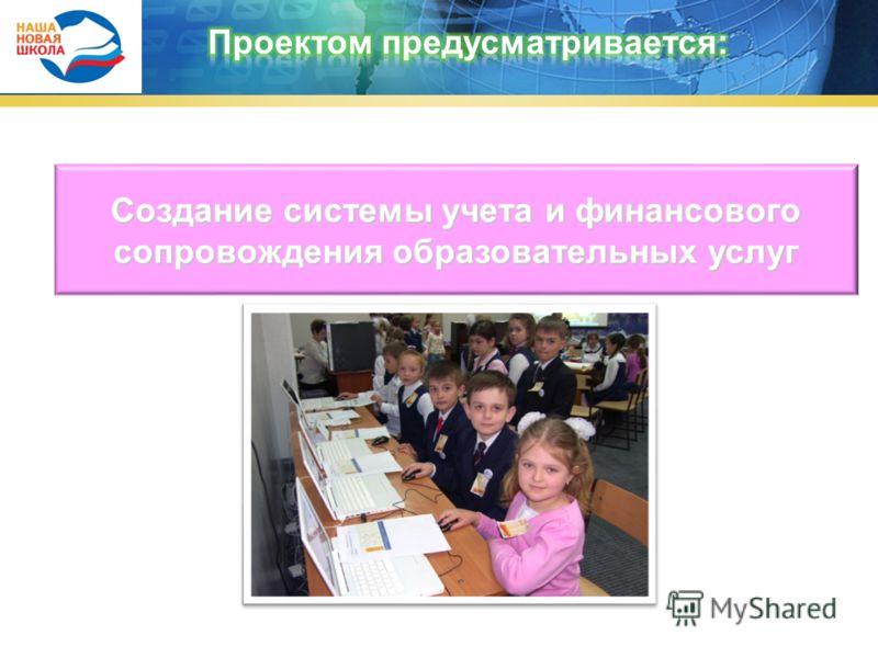 Создание системы учета и финансового сопровождения образовательных услуг