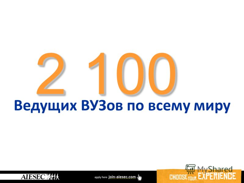 2 100 Ведущих ВУЗов по всему миру