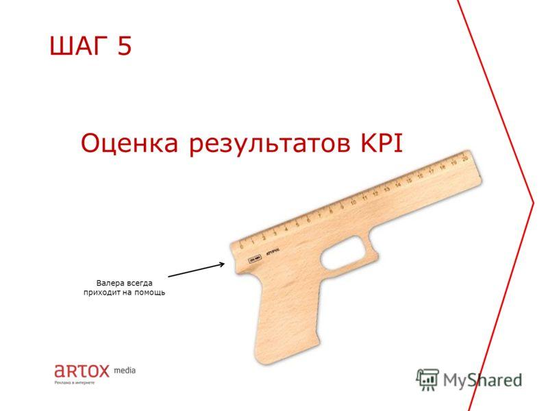 Оценка результатов KPI ШАГ 5 Валера всегда приходит на помощь