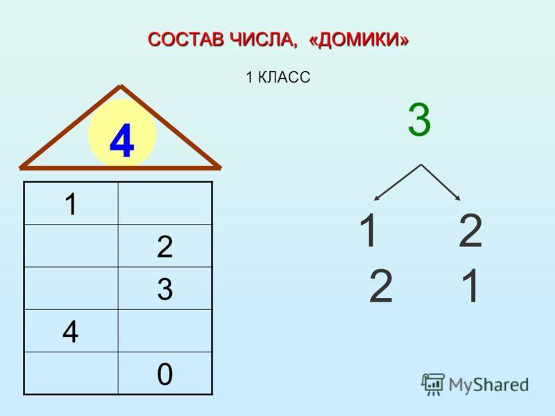 Состав Числа Домики 9 Ромашка
