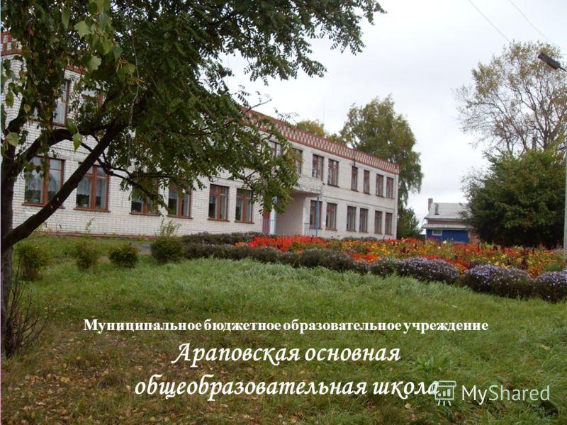 Муниципальное бюджетное образовательное учреждение Араповская основная общеобразовательная школа