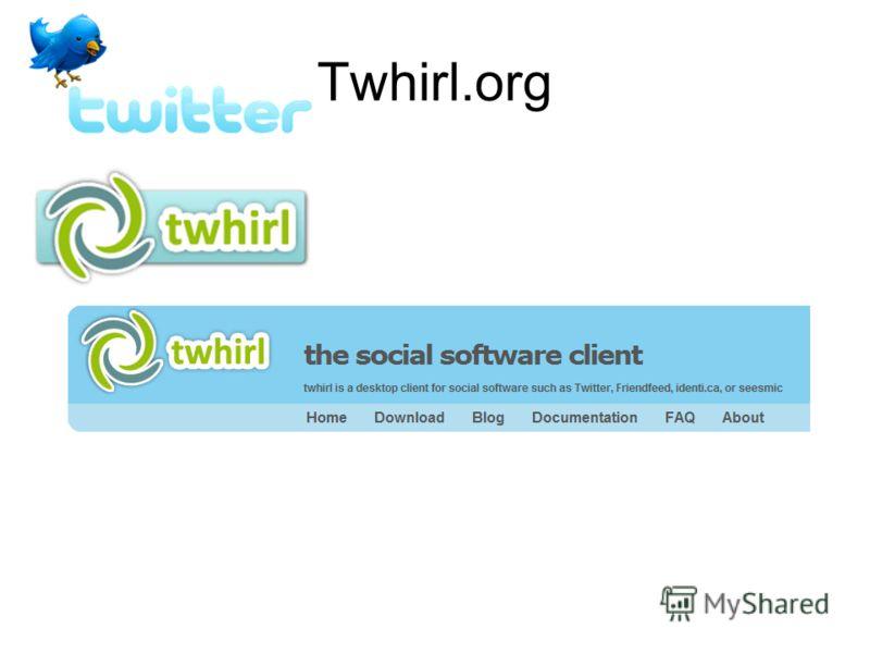 Twhirl.org