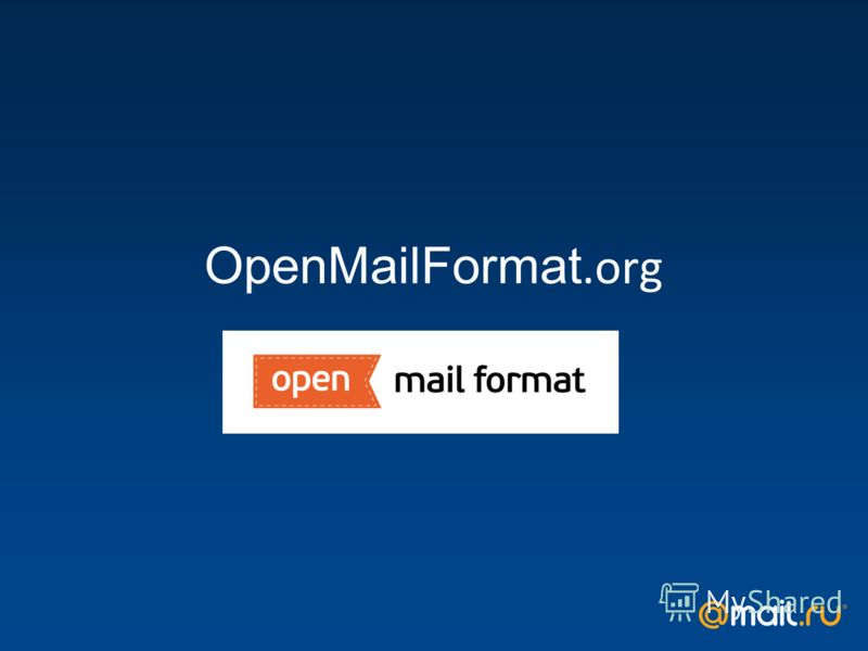 OpenMailFormat.org