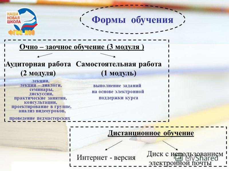 www.themegallery.com Company Logo Формы обучения Дистанционное обучение Интернет - версия Диск с использованием электронной почты Очно – заочное обучение (3 модуля ) Аудиторная работа (2 модуля) Самостоятельная работа (1 модуль) лекции, лекции – диал