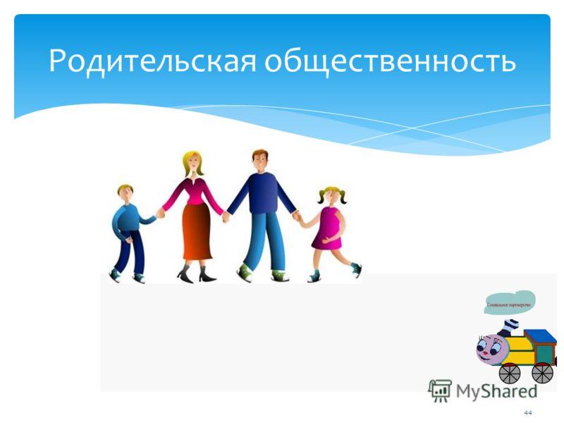 44 Родительская общественность