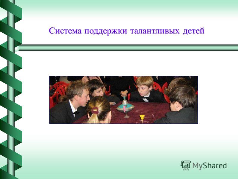 Система поддержки талантливых детей