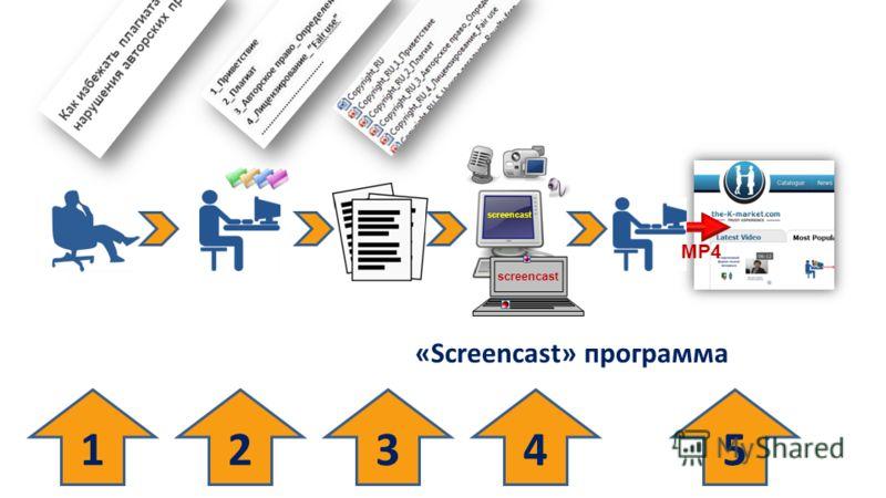 13425 MP4 screencast «Screencast» программа