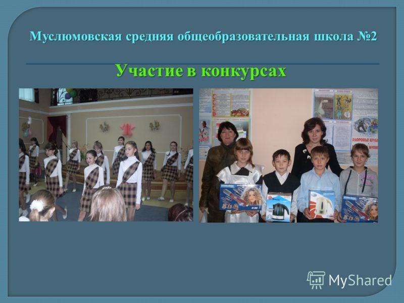 Участие в конкурсах Муслюмовская средняя общеобразовательная школа 2