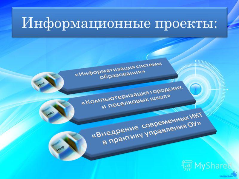 Информационные проекты: