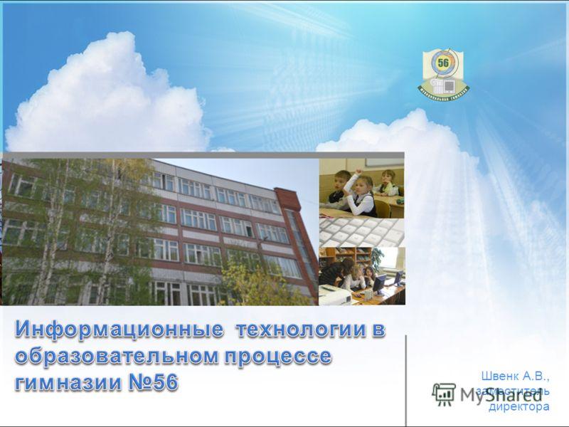 Швенк А.В., заместитель директора