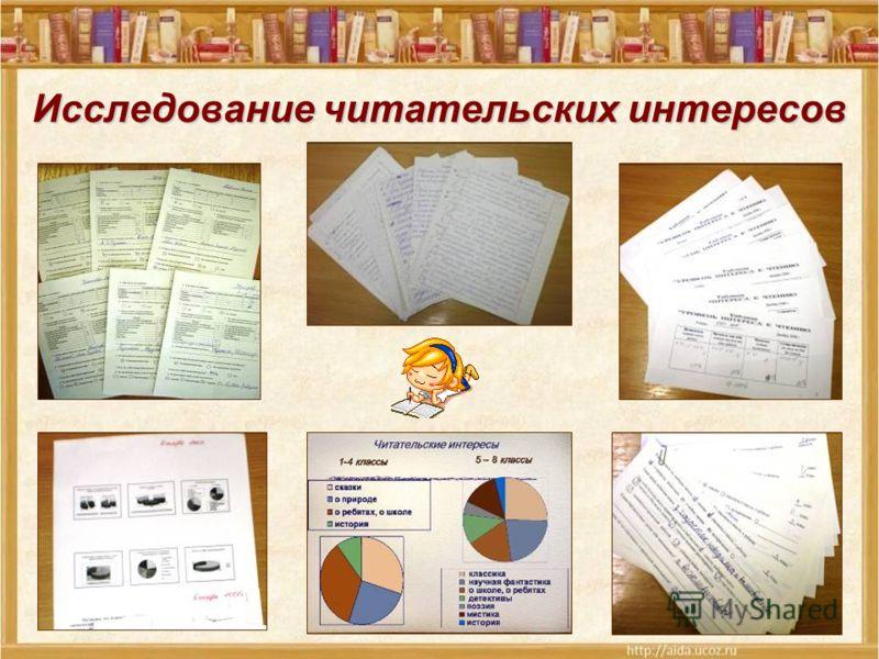Исследование читательских интересов