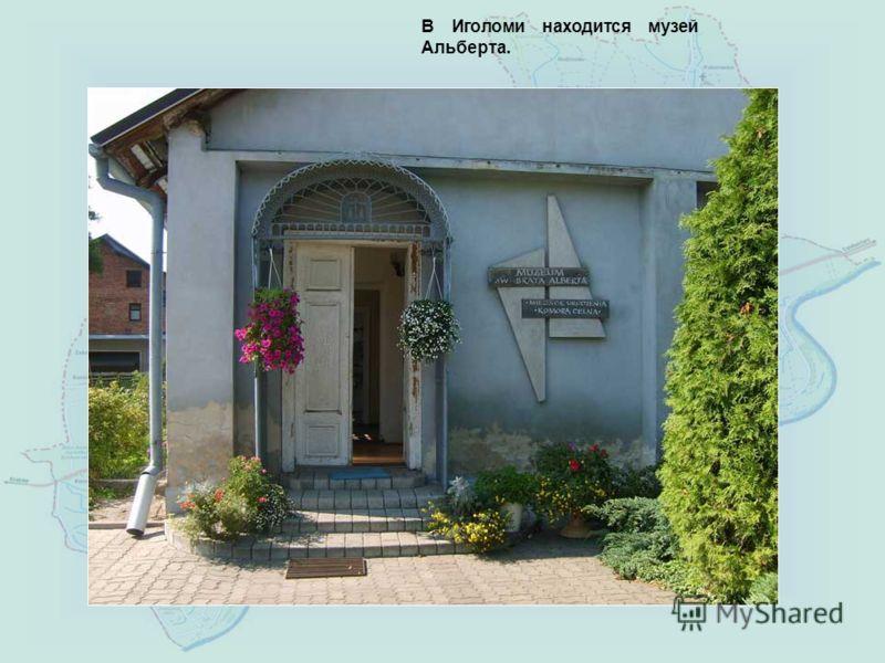 В Иголоми находится музей Альберта.