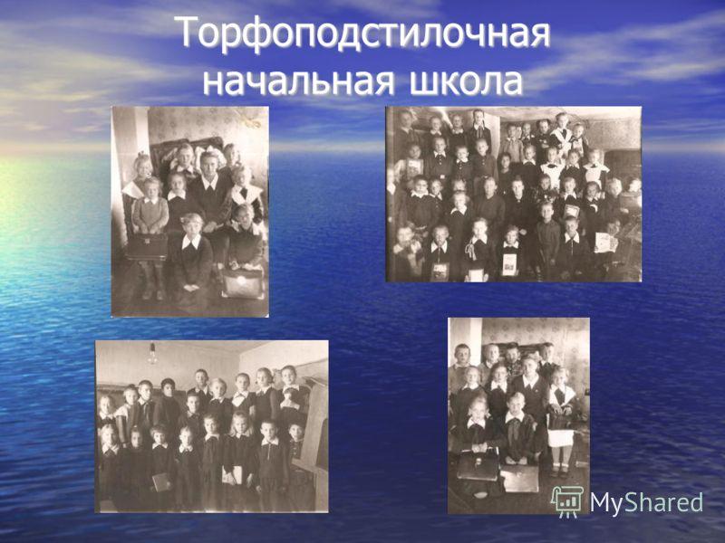 Торфоподстилочная начальная школа Торфоподстилочная начальная школа