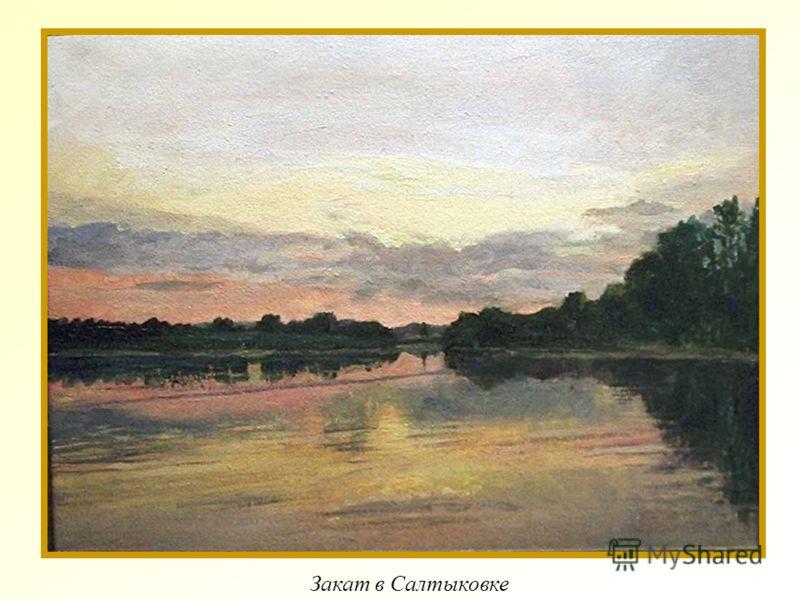 Закат в Салтыковке
