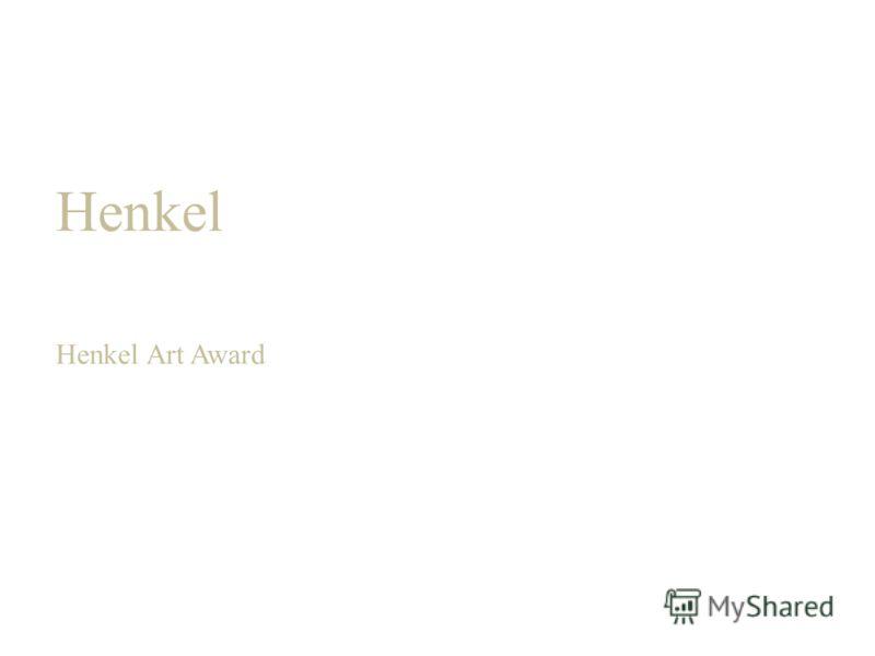 Henkel Henkel Art Award
