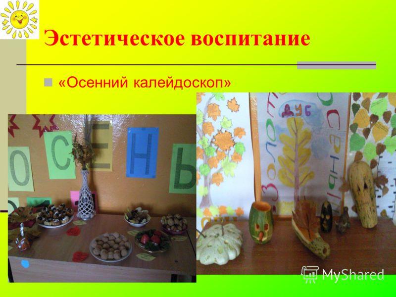 Эстетическое воспитание «Осенний калейдоскоп»