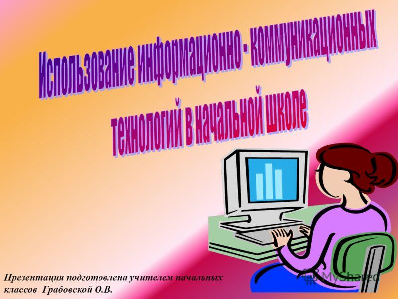 Презентация подготовлена учителем начальных классов Грабовской О.В.