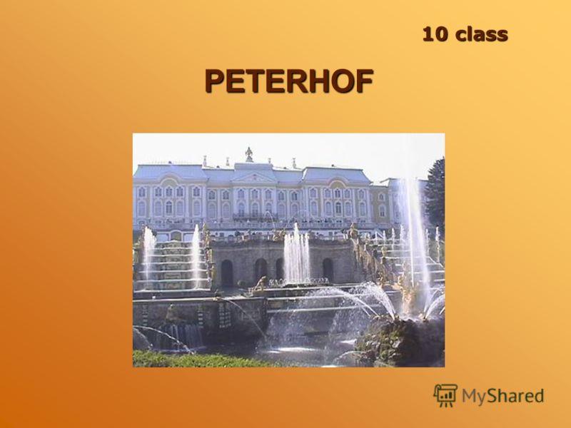 PETERHOF 10 class